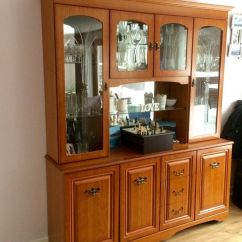 Mirrored Cabinets Living Room White Elegant Furniture Display Cabinet Glass Wooden Unit Dining Storage