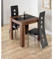Brand New Hudson 3 Piece Modern Kitchen 2 Black Faux ...