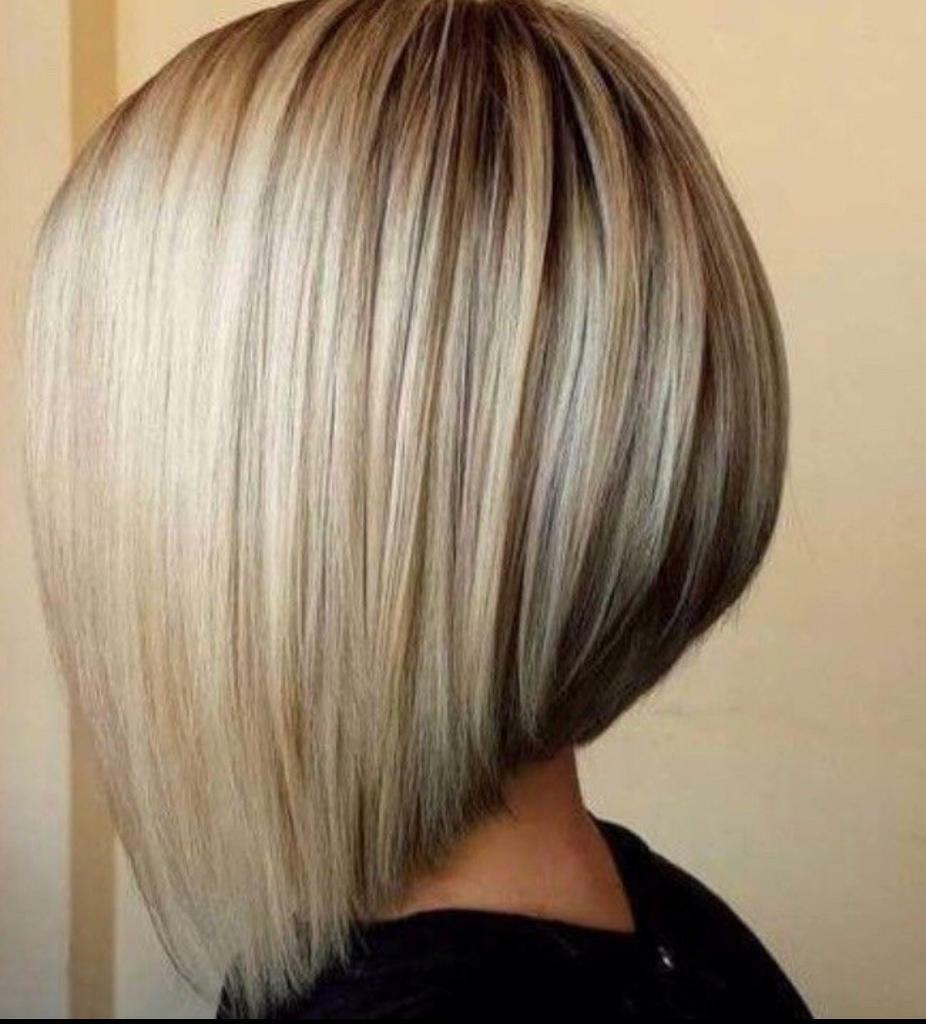 free gradueted bob haircut