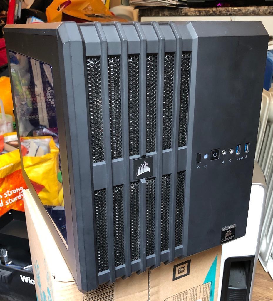 Corsair Carbide Air 240 micro-ATX Cube Case - Black | in Ashton. Bristol | Gumtree