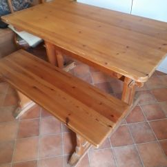 Pine Kitchen Bench Farmhouse Sink Heal S Table And In Putney London Gumtree