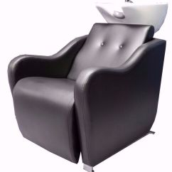 Backwash Chairs Uk Chair Covers For Recliners New Boxed Florence Black Salon Unit Sale In The
