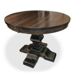 Wood Table Kitchen Samsung Appliance Package Round Buy Or Sell Dining Sets In Oshawa Durham Modern Solid Maple
