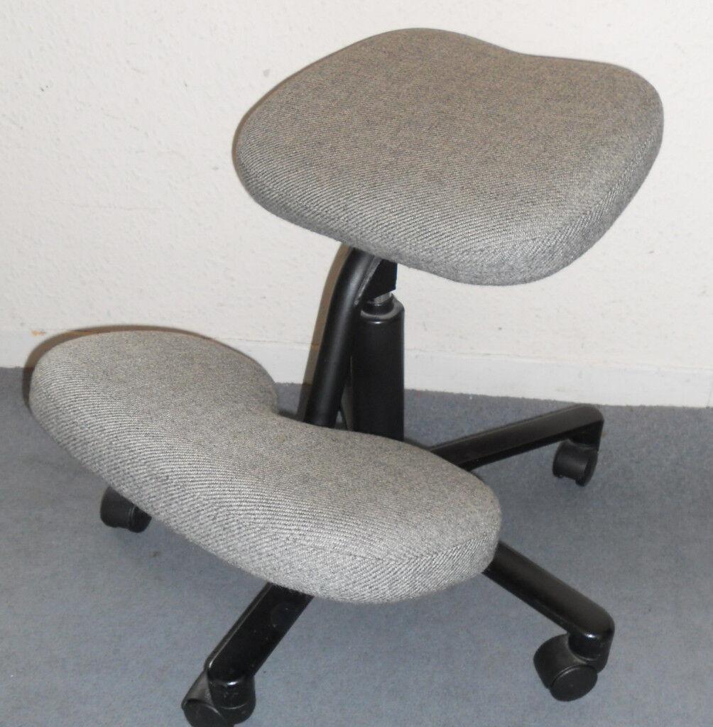hag posture chair bunjo bungee parts kneeling stool seat on casters in llanishen