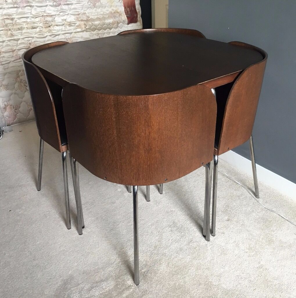IKEA Fusion Compact Space Saving Dining Table  Chairs