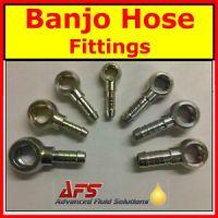 Metric BANJO x Hose Tail Fitting - Diesel Petrol Oil Tube ...