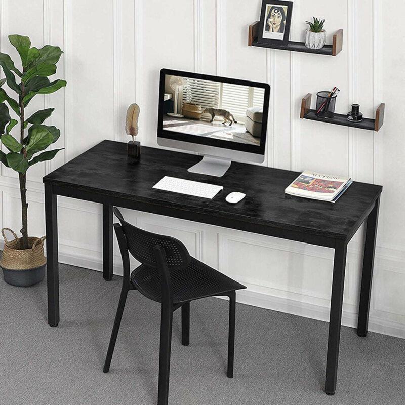La verniciatura a spruzzo è un metodo di imbiancatura semplice ed. Black Wood Computer Desk Pc Laptop Table Study Workstation Home Office Furniture Desks Tables Mvesal Business Industrial