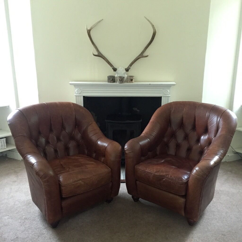 two seater recliner sofa gumtree organic sofas 2 laura ashley leather armchairs arm tub chairs chair ...