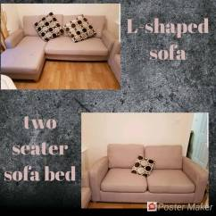 2 Seater L Shaped Sofa Bed Living Room Set Designs 2017 And One In Woodley Berkshire