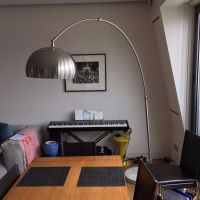 Retro Curved Floor Lamp