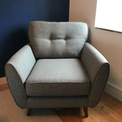 Bedroom Chair Dfs Dining Seat Covers Target Zinc Large Grey Armchair In Frome Somerset Gumtree
