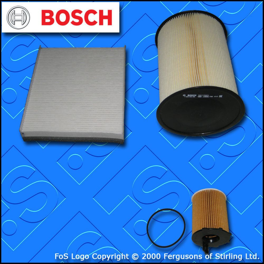 medium resolution of details about service kit for ford focus mk3 1 6 tdci bosch oil air fuel filters 2010 2017