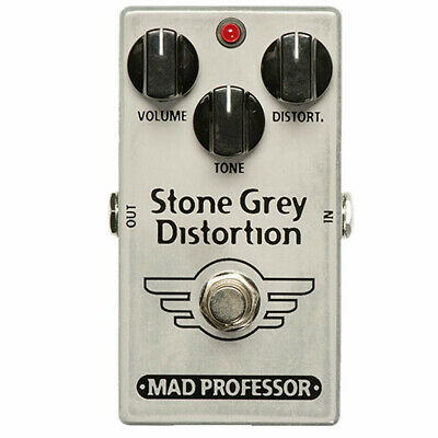 Mad Professor Stone Grey Distortion Effects Pedal