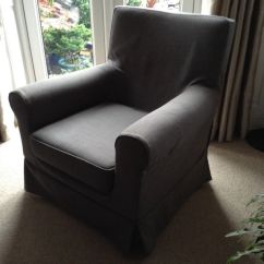Loose Chair Covers Ikea Dx Racer Gaming Grey Cover Armchair In Huyton Merseyside Gumtree