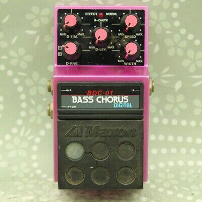 MAXON BDC-01 Digital Bass Chorus Made in Japan Guitar effect pedal (143380)