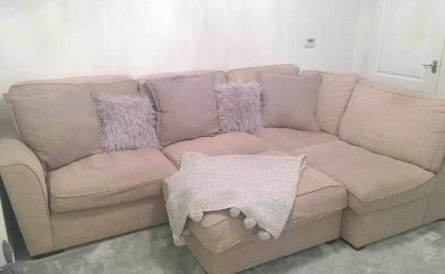 Furniture Village Fable L Shape Sofa In Natural Open To