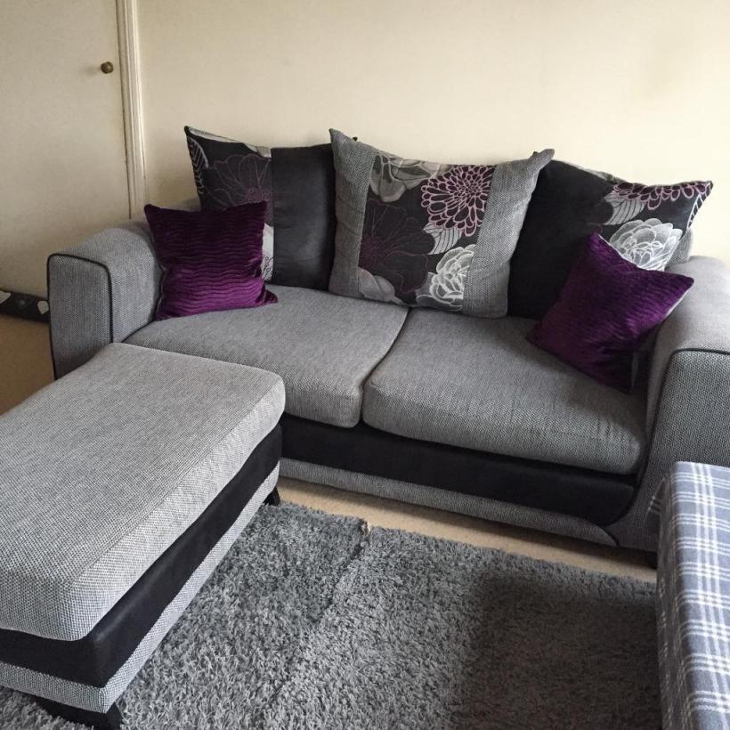 Grey and purple sofa for Grey and purple sofa