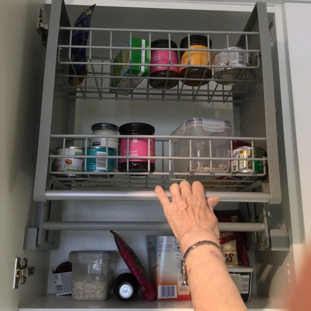 kitchen shelving units wusthof shears pull down from howdens for 600mm wall cabinets 3 available