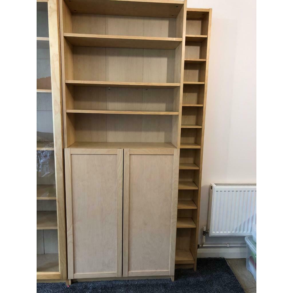 Ikea Billy Bookcase With Half Doors In Manchester Gumtree