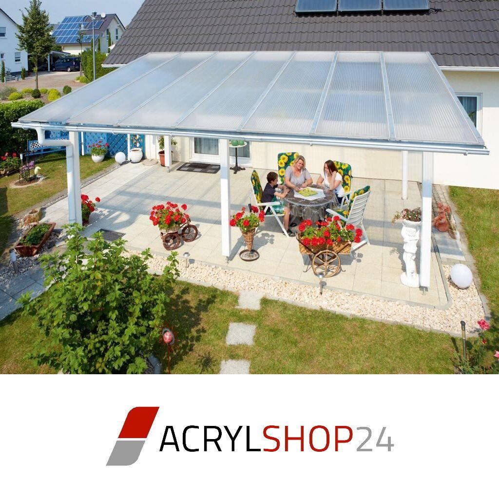Komplettdach / Terrassendach Aus 16Mm Stegplatten