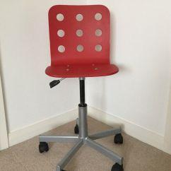 Red Childrens Desk Chair Chrome Dining Chairs Children S In Balerno Edinburgh Gumtree
