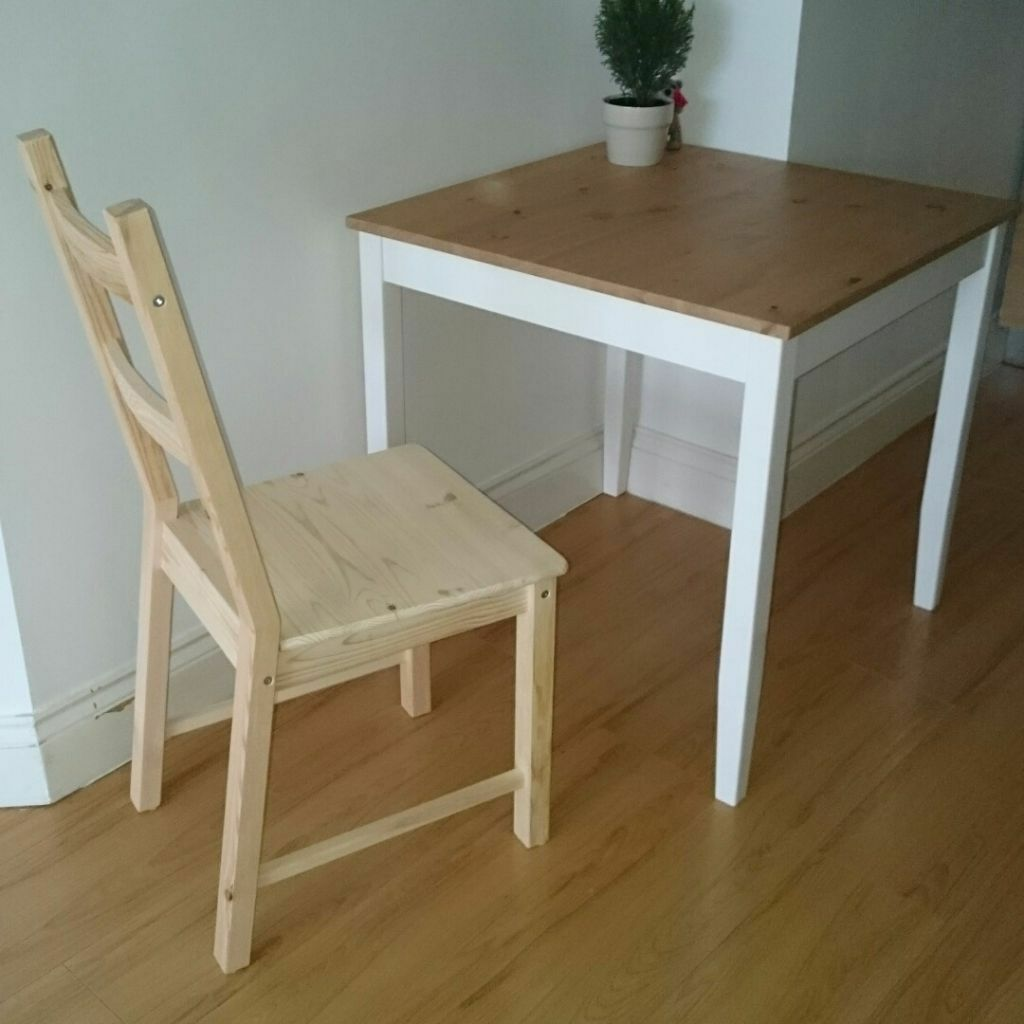 ikea small table and chairs vanity with chair lerhamn 74 74cm one in aldgate