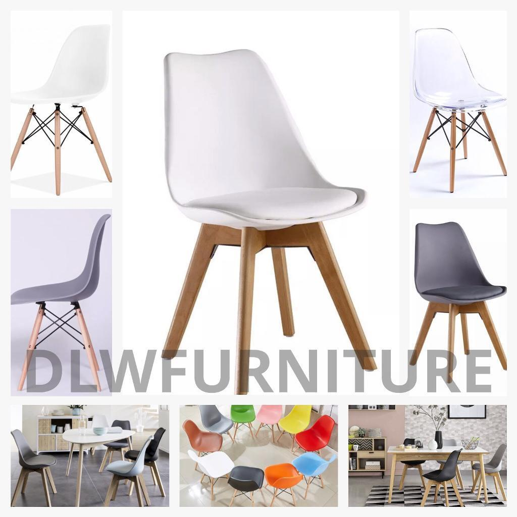 Styles Of Chairs Modern Eiffel And Tulip Style Chairs Dining Office Bar Home Shop