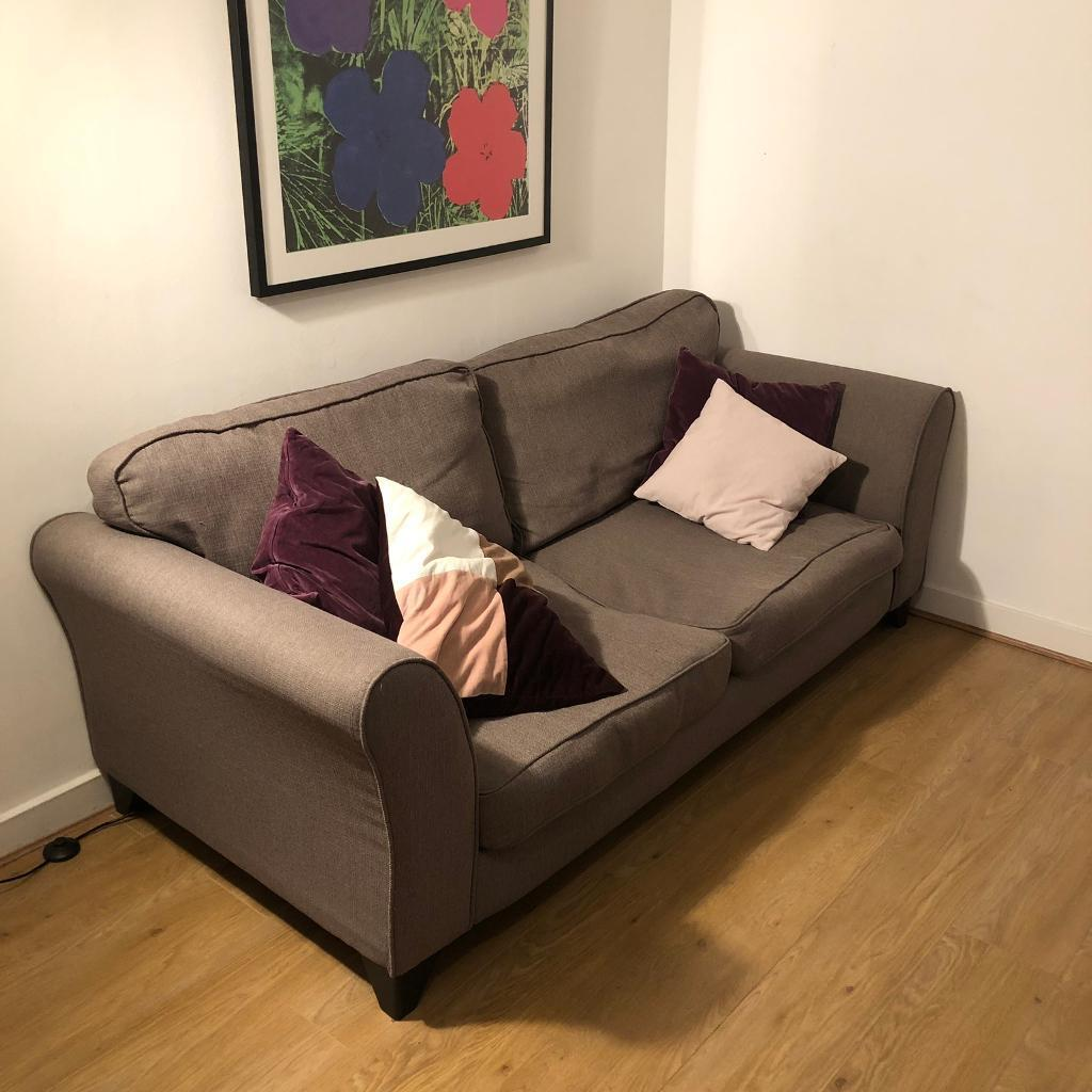 sofa london gumtree upholstery cleaning chennai dfs brixham 3 seater in manor house