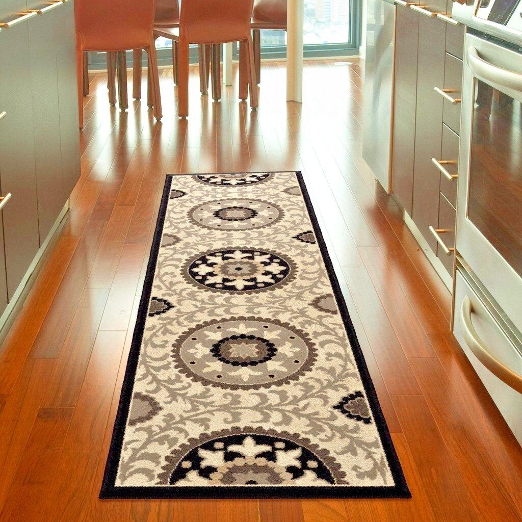 Details About Runner Rugs Carpet Runners Area Rug Runners Hallway Modern Floral Kitchen Rugs