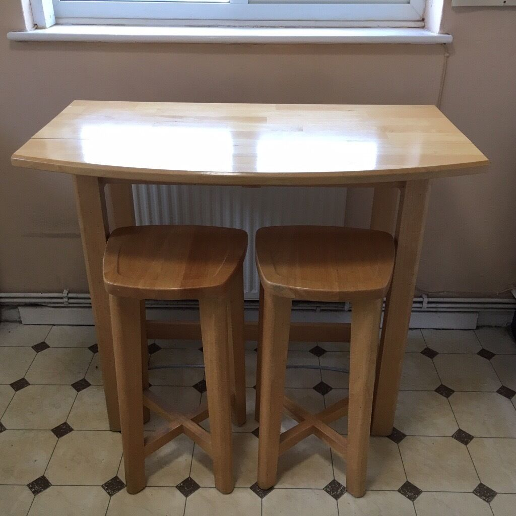 chair and matching stool big man folding breakfast bar table two stools in dartford