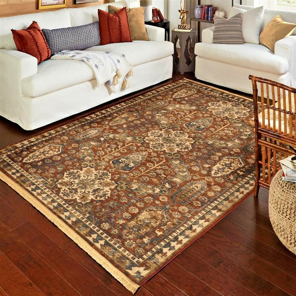 red rugs for living room rooms with chairs area carpet 8x10 rug oriental persian details about floral