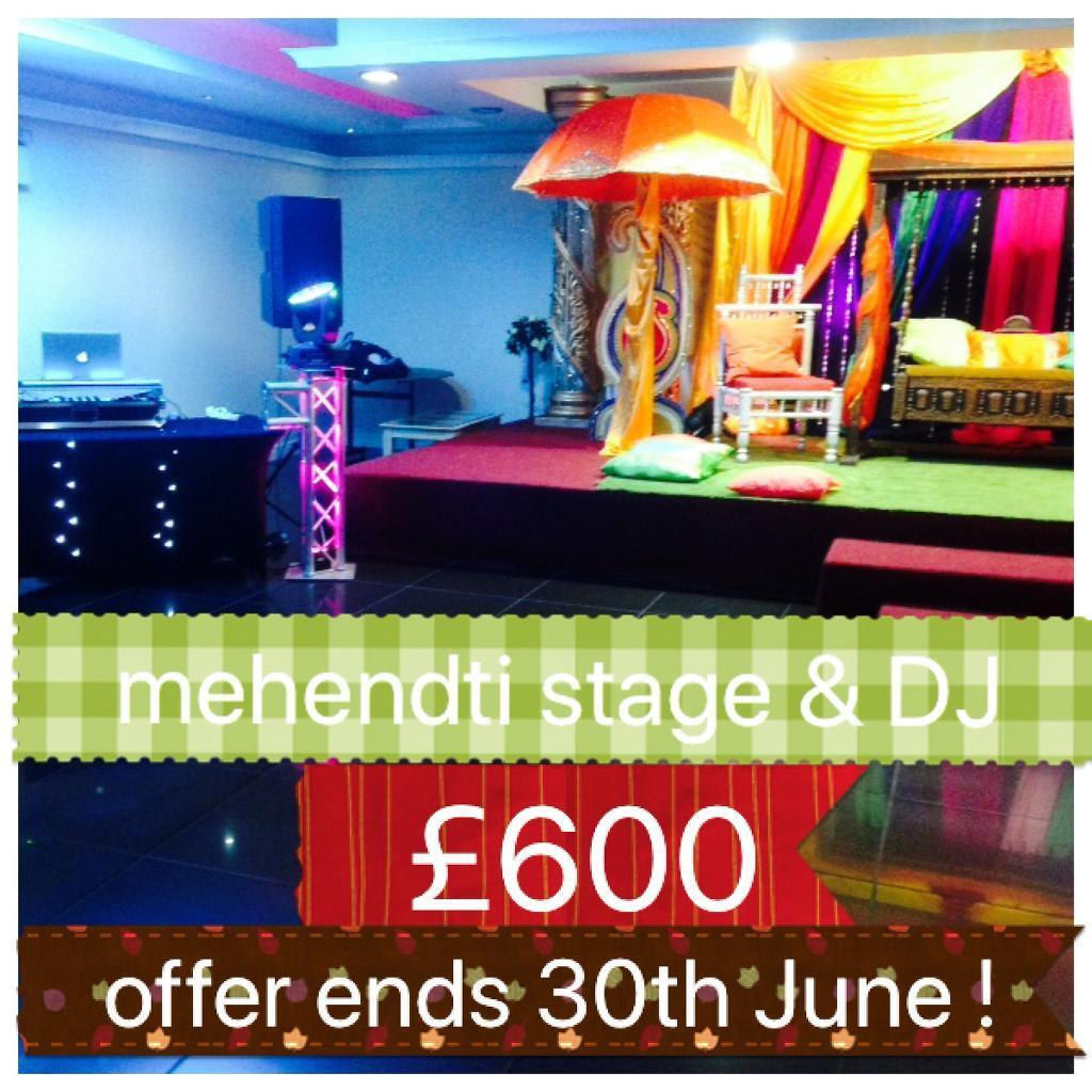 gumtree wedding chair covers for sale white kitchen table and chairs asian mehendi stages mehndi
