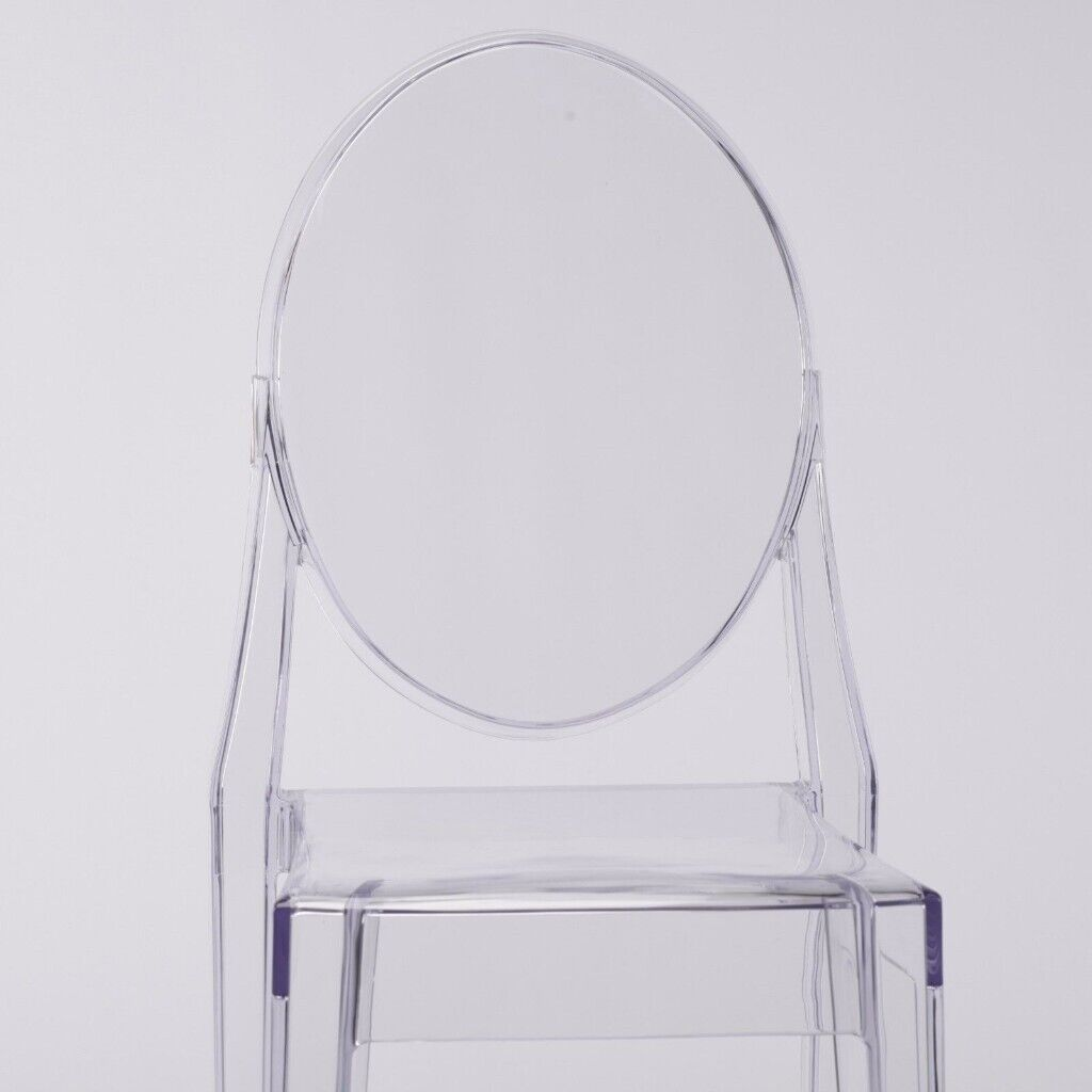 Clear Vanity Chair New Clear Transparent Modern Chair In Birmingham City Centre West Midlands Gumtree