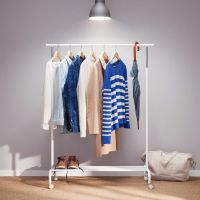 Ikea RIGGA clothing rack in white | in Fulham, London ...