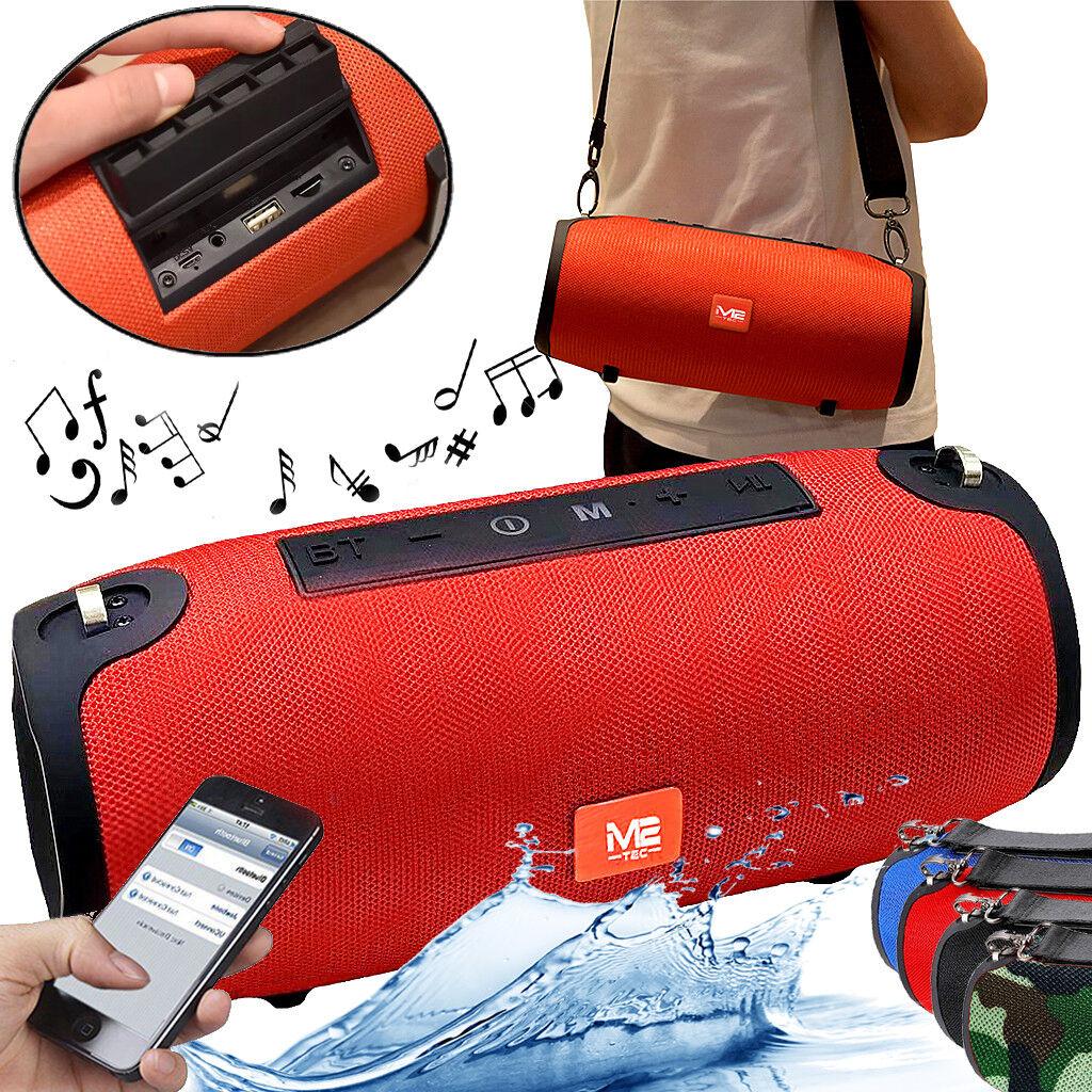 Tragbarer Portabler M2-Tec Bluetooth Lautsprecher Soundbox Soundstation Musikbox