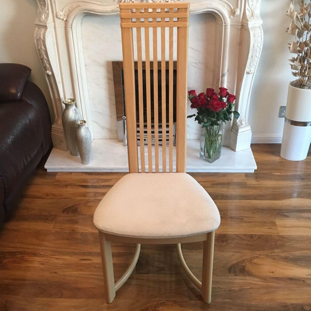 chair covers ikea furniture niagara 6 charles rennie mackintosh dining chairs | in paisley, renfrewshire gumtree