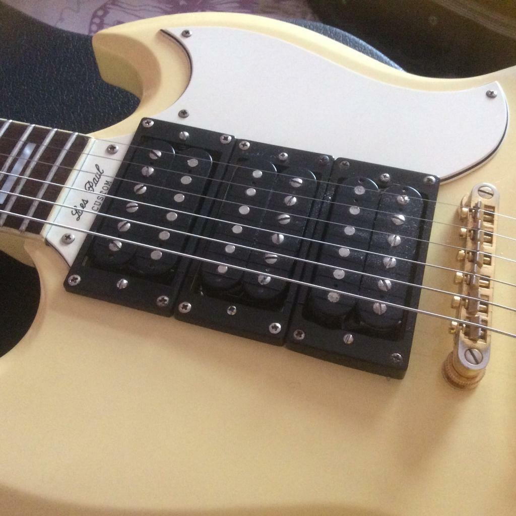 gibson sg epiphone ranco electronic temperature control wiring diagram custom antique cream with humbuckers