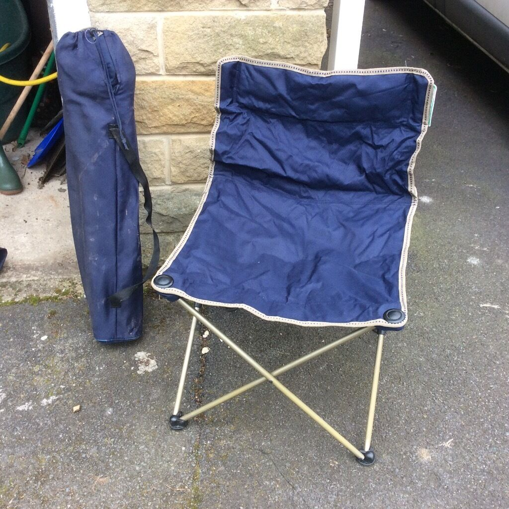 fishing chair second hand desk wood camping festival folding chairs x 2 in bramley