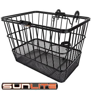 NEW-SunLite-Front-Wire-Mesh-Bottom-Lift-Off-Bicycle-Basket