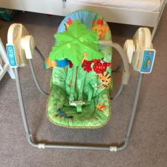 Graco Baby Swing Chair Uk Hanging High Rainforest Comfy Cove Priscilla