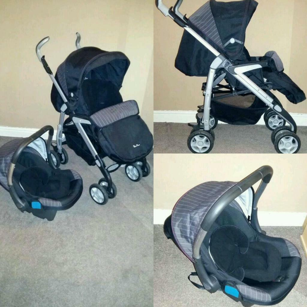 baby chair carrier black directors silvercross pushchair seat silver cross push