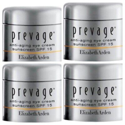 Elizabeth Arden Prevage Anti-Aging Eye Cream Spf 15, 4 Pack X .17 New Unboxed