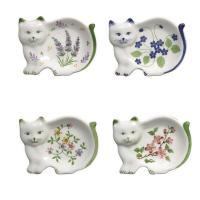 Cat Tea Bag Holder | eBay