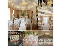 wedding chair cover hire wrexham small chaise lounge chairs for bedroom uk in scotland other services gumtree nottingham derby sheffield 5ft light up love letters