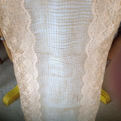 Chair Accessories For Weddings Swing Rope Wedding Beautiful Handmade Hessian And Lace Sashes