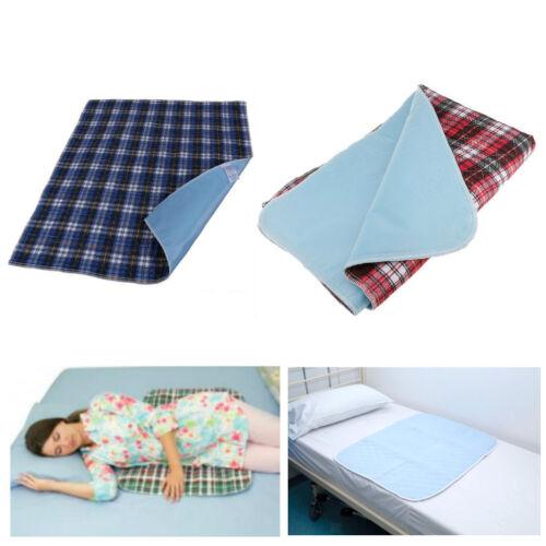 Inkontinenzunterlage Krankenunterlage Wickelunterlage Bett Unterlage waschbar