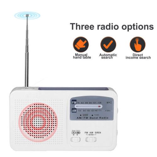 Kurbelradio / Solar / Batterie / wiederaufladebar, LED Taschenlampe Power