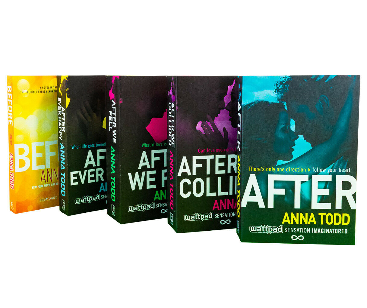 Anna Todd After Series 5 Books Young Adult Collection Paperback By Anna Todd   eBay