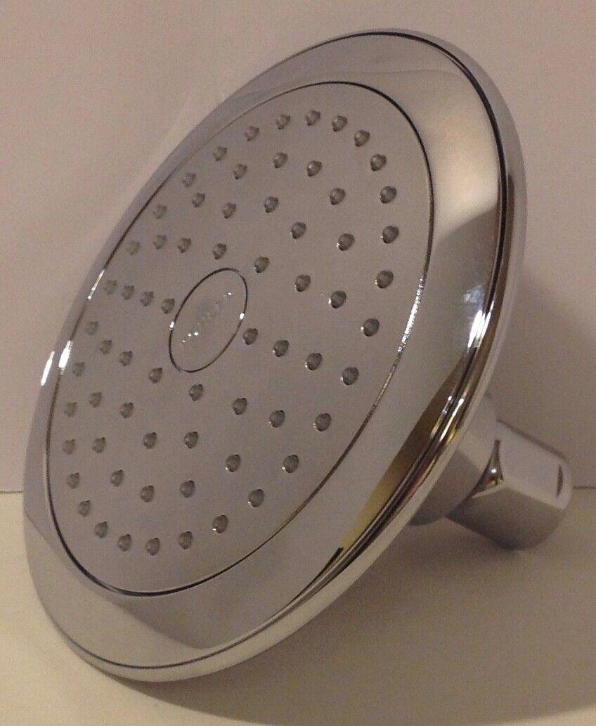 Kohler Shower Head Round Rain Spray Bathroom Fixed Showerhead Polished Chrome