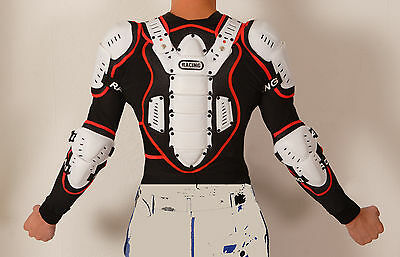 KINDER Protektorenjacke - Protektorenhemd - Brustpanzer Safety Jacket NEU KIND